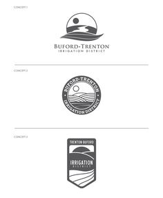 Logo & Stationery Design Process for Agriculture and Irrigation District   Logo Concepts