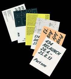 Print design // typography // source:  hrsst