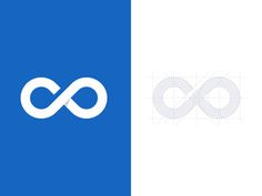 Infinity Logo designed by Icon Connect with them on Dribbble; Logo Branding, Branding Design, Logo Design, Graphic Design, Dp Logo, Logo Infinity, Logo Image, Consulting Logo, Creative Logo