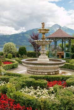 Zell am See, Austria – The Overseas Escape Salzburg Austria, Fountain, Places To Visit, Mansions, House Styles, Outdoor Decor, Girlfriends, Snapchat, Ideas