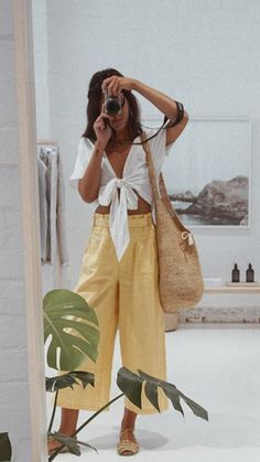 Summer Outfits Guide Vol. 2 50 Cute Summer Outfits to Wear Now Fashion Mode, Look Fashion, Womens Fashion, Spring Summer Fashion, Spring Outfits, Summer Outfit, Mode Outfits, Fashion Outfits, Mode Pop