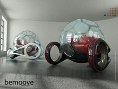 Would you like to get around in a mode of transport that looks like the above? What your eyes see would be the Bemoove concept car, which is the....