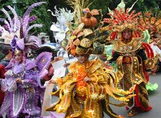 Batik Carnival in Indonesia