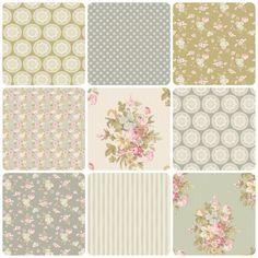 Tilda Happiness is Homemade Fabric Bundle