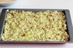 Mamina jela: Prolećni ručak s tikvicama Baking Recipes, Cookie Recipes, Dessert Recipes, Free Recipes, Serbian Recipes, Food Garnishes, Vegetable Sides, No Bake Cake, Free Food