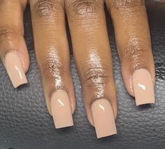 White Tip Acrylic Nails, Cute Acrylic Nail Designs, Square Acrylic Nails, Gorgeous Nails, Pretty Nails, School Nails, Classic Nails, Nail Art, Girls Nails