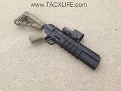 guns up firearms. thump. When all else fails, get bigger ammo. 40 mm