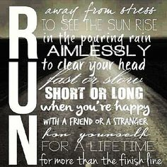 For no apparent reason other than to love life! #run