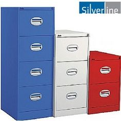 Silverline Kontrax Filing Cabinets - Buy Silverline Kontrax Filing Cabinets online from Office Furniture Online UK, Silverline Colours.bringing a new contemporary look to steel storage. Stainless Steel Fabrication, Metal Fabrication, School Furniture, Online Furniture, Pallet Manufacturers, Furniture Manufacturers, Industrial Lockers, Industrial Metal, Heavy Duty Racking