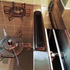 Kitchen/100均/DIY/コンロ/つっぱり棒/ガスコンロ...などのインテリア実例 - 2015-11-26 05:55:31 | RoomClip (ルームクリップ) Espresso Machine, Coffee Maker, Sweet Home, Kitchen Appliances, House, Houses, Espresso Coffee Machine, Coffee Maker Machine, Diy Kitchen Appliances