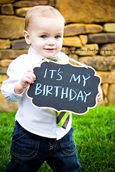 first birthday invitation idea !