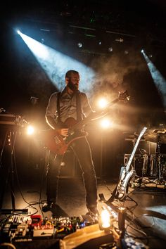 Russian Circles live in Linz, Austria at Posthof - October 13,...