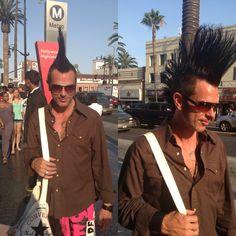 Cool mohawk guy Hot Guys, Cool Stuff