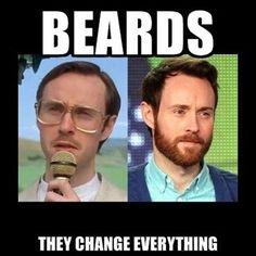 What a transformation! Beard! | Beard = Man #beards
