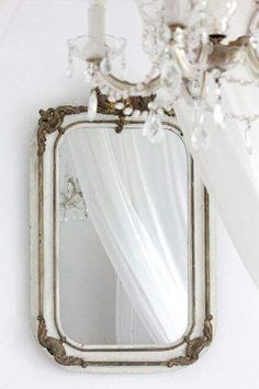 shabby vintage mirror vintage ornate mirror etched glass mirror
