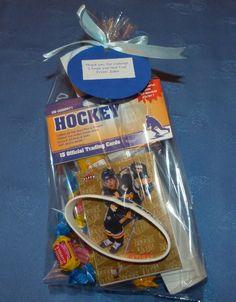 Hockey Loot Bag ... add a puck?
