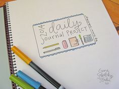 Daily Journal Project cover by gina sekelsky studio
