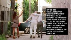 Burn Notice Spy Tips: #155