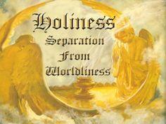 holiness separation