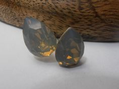 Grey Sand Opal 14x10mm Pear shape 4320 by ParisiJewelryDesigns, $14.99