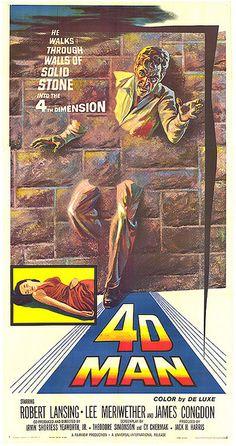1959- 4D-MAN  Robert Lansing
