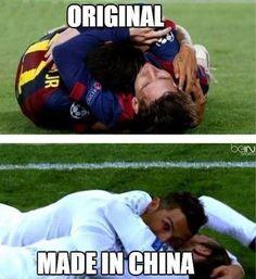 Jaka jest różnica pomiędzy radością z gola w Realu Madryt i FC Barcelonie? • Tak wygląda oryginalna radość i Made in China • Zobacz >> #barca #barcelona #fcbarcelona #football #soccer #sports #pilkanozna