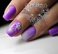 Cele Mai Bune 33 Imagini Din Unghii Mov Pretty Nails Cute Nails