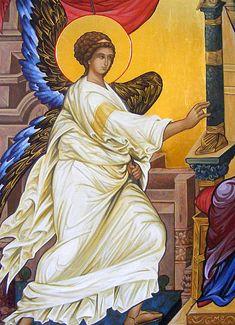 Sacred Mysteries — The Studio of John the Baptist Paint Icon, Byzantine Icons, Blessed Virgin Mary, John The Baptist, Religious Icons, Catholic Art, Orthodox Icons, Sacred Art, Mystery