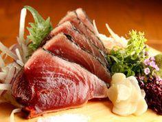 わらやき屋 六本木  reccommended dishes: katsuo, unagiage, seared mackerel sushi