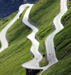 Furke Pass in Switzerland
