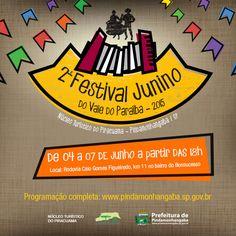 2º Festival Junino do Vale do Paraíba - 2015   Prefeitura de Pindamonhangaba