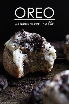 Oreo Cinnamon Rolls   Club Narwhal Guest Post