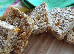 Power bars recipe - the best solution for breakfast or on the go