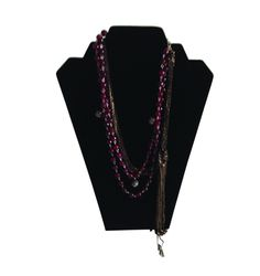 Indian Necklace. Made with soft Indian chains & Agates