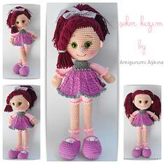 Amigurumi Candy Doll pattern by Amigurumi Aşkına