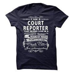 I am a Court Reporter - #sweatshirt hoodie #college sweatshirt. OBTAIN => https://www.sunfrog.com/LifeStyle/I-am-a-Court-Reporter-18701719-Guys.html?68278