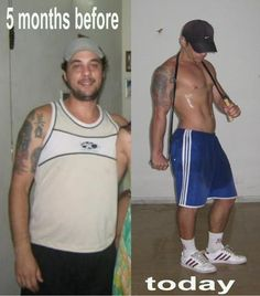 Before and After Body Transformation. http://www.FITQUOX.com #body #transformation