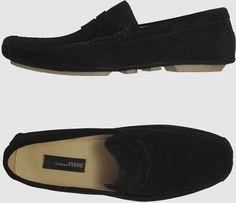 e4314db2e8a67 Gianfranco Ferre Shoes for Men   Gianfranco Ferré Moccassins in Black for  Men - Lyst Gianfranco