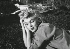 Marilyn Monroe by Ted Baron (1954)