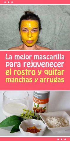 La mejor mascarilla para rejuvenecer el rostro y quitar manchas y arrugas
