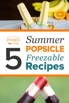 Looking for DIY Popsicle Recipes? Our Summer Popsicle Freezer Menu has the perfect flavor combinations and homemade touch. Watermelon Yogurt, Orange Banana, and Mocha Popsicles will please everyone in the family! Crock Pot Freezer, Freezer Meals, Freezable Meals, Pleasing Everyone, Popsicle Recipes, Healthy Sweets, Mom Blogs, Recipe Collection, Us Foods