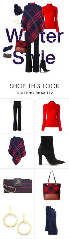 """""""Winter style"""" by veronababy ❤ liked on Polyvore featuring 10 Crosby Derek Lam, Blumarine, Gianvito Rossi, Tommy Hilfiger, Emma Fox, Vita Fede, Guanti Giglio Fiorentino and Miss Selfridge"""