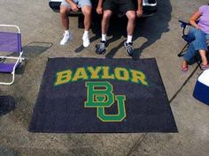 Fanmats Alabama Crimson Tide Tailgater Mat  http://allstarsportsfan.com/product/fanmats-alabama-crimson-tide-tailgater-mat/?attribute_pa_color=baylor-bears  Made in USA; Height 72 in.; Width 0.5 in.; Shipping Method UPS/FedEx; Shape Rectangle; Material 100% Nylon Theme Sports Type Mat