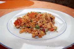 veganer mexikanischer Tortilia Salat