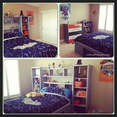 I just want the organization thing above my bed!