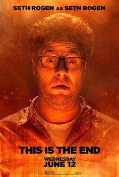 This is the End , starring James Franco, Jonah Hill, Seth Rogen, Jay Baruchel. While attending a party at James Franco's house, Seth Rogen, Jay Baruchel and many other celebrities are faced with the apocalypse. #Comedy #Fantasy