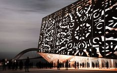 the polish pavilion at the world expo in shanghai in 2010 by wwa architects. love the way it is lit from the inside.