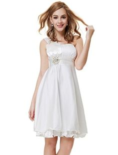 Ever Pretty Dresses For Women Christmas Party 03229, HE03229WH08, Cream, 6US