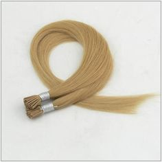 100s Straight Stick/I Tip Human Hair Extensions #27 Strawberry Blonde #itiphair #sticktiphair #fusionhairextension Pre Bonded Hair Extensions, Keratin Hair Extensions, Fusion Hair Extensions, Human Hair Extensions, Strawberry Blonde, Remy Human Hair, Hair Extensions