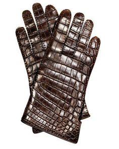 Crocodile gloves, Hermès, $2,275